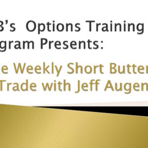 SMB – Jeff Augen – Weekly Short Butterfly