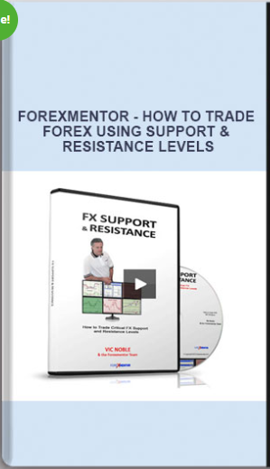FOREXMENTOR – HOW TO TRADE FOREX USING SUPPORT & RESISTANCE LEVELS