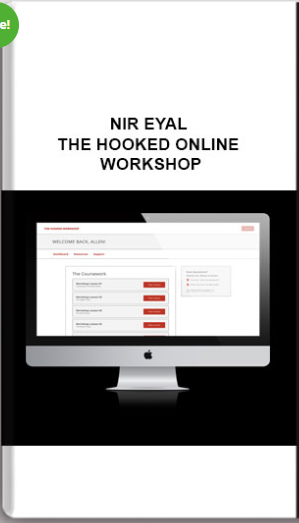 Nir Eyal – The Hooked Online Workshop