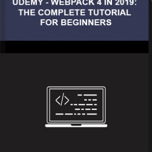 Udemy – Webpack 4 In 2019: The Complete Tutorial For Beginners