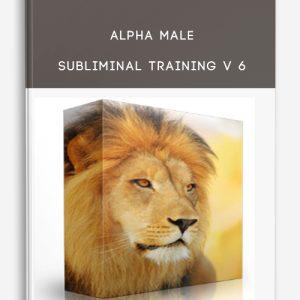 Alpha Male Subliminal Training V 6