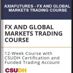 Axiafutures – FX AND GLOBAL MARKETS TRADING COURSE