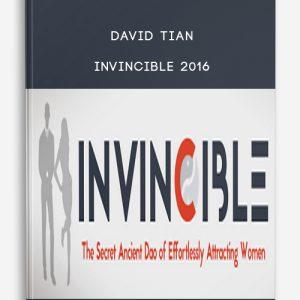 David Tian – Invincible 2016