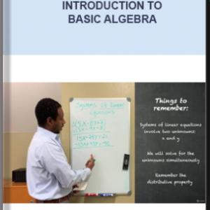 Master Beginners Algebra – Introduction To Basic Algebra