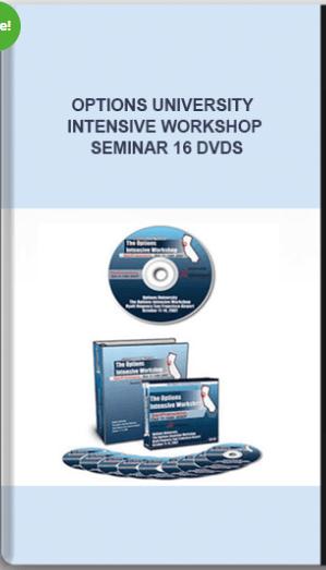 Options University – Intensive Workshop Seminar 16 DVDs
