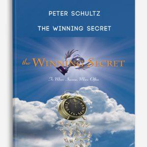 Peter Schultz – The Winning Secret