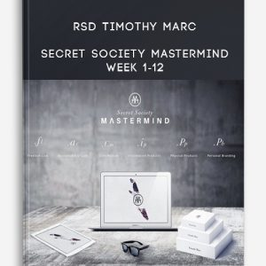 RSD Timothy Marc – Secret Society Mastermind Week 1-12