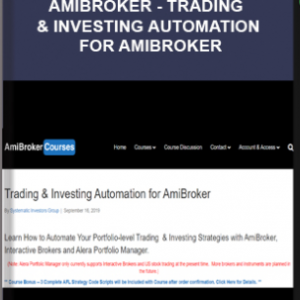 Amibroker – Trading & Investing Automation for AmiBroker