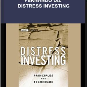 Martin J. Whitman, Fernando Diz – Distress Investing