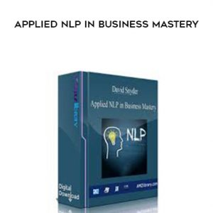 David Snyder – Applied NLP in Business Mastery