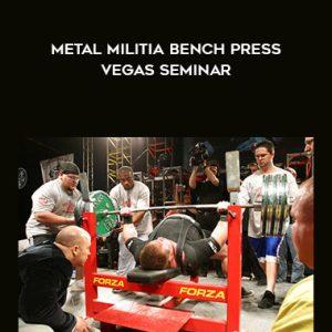 Metal Militia Bench Press Vegas Seminar by Powerlifting