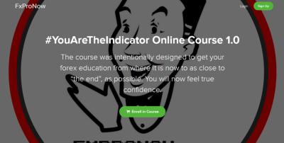 YouAreTheIndicator Online Course 1.0 – FXProNow