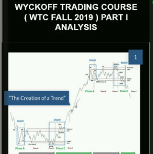 WYCKOFFANALYSIS – WYCKOFF TRADING COURSE ( WTC Fall 2019 ) PART I – ANALYSIS
