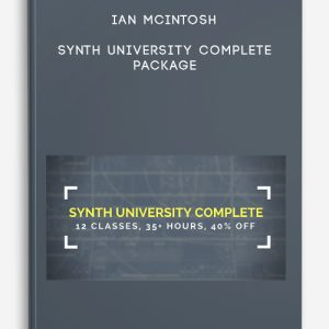 Synth University Complete Package by Ian McIntosh
