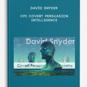 CPI Covert Persuasion Intelligence by David Snyder