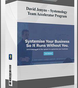 David Jenyns – Systemology – Team Accelerator Program