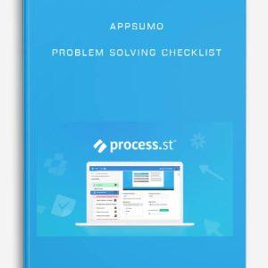 AppSumo – Problem Solving Checklist