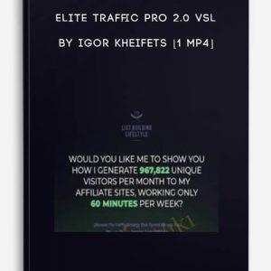 Elite Traffic Pro 2.0 VSL by Igor Kheifets [1 MP4]
