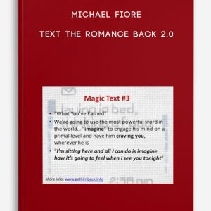 Text The Romance Back 2.0 by Michael Fiore