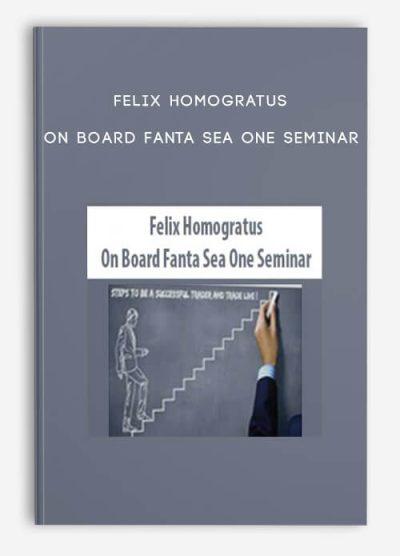 On Board Fanta Sea One Seminar by Felix Homogratus